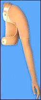 Пасивна протеза след дезартикулация на раменната става, а също след дезартикулация на раменната става , лопатка ключица 06 18 18/ 06 18 21